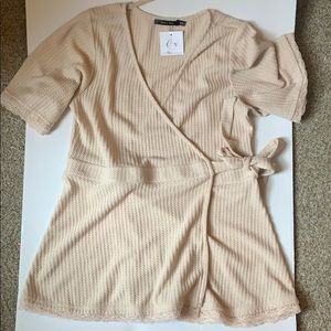 NWT Cross Over Top